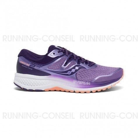SAUCONY OMNI ISO Femme   Purple / Peach