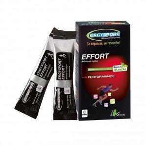 ERGYSPORT Boisson Effort - Étui de 6 sticks de 30g | Menthe