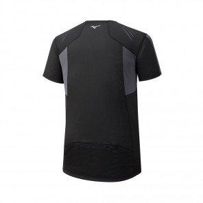 MIZUNO Tee-Shirt Trail manches courtes ENDURA TRAIL HZ Homme   Black