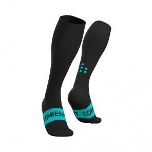 COMPRESSPORT Chaussettes de compression FULL SOCKS RACE OXYGEN | Noir